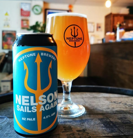 Neptune Brewery Nelson Sails Again